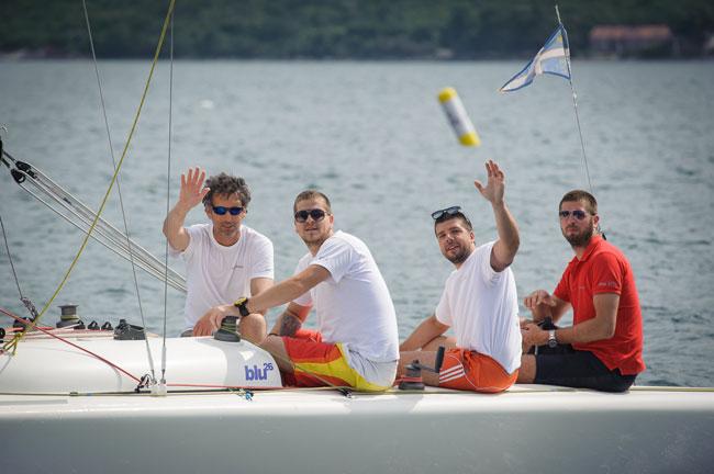 Gledate fotografije: Prva internacionalna Blue26 regata
